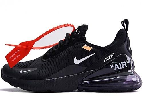 Nike Air Max 270 Off-White Black, купить кроссовки Найк Аир Макс 270 ... 1355c9bf76e