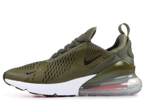 2d4aa1bb Nike Air Max 270 Olive, купить кроссовки Найк Аир Макс 270 оливковые ...
