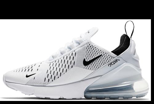 Nike Air Max 270 White, купить кроссовки Найк Аир Макс 270 белые в ... d87d60c3987