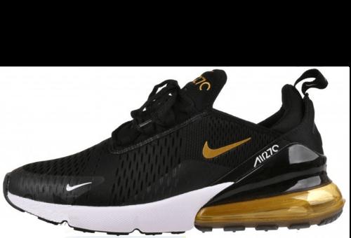 9b49c54e купить Nike Air Max 270 Black Gold, кроссовки Найк Аир Макс 270 ...