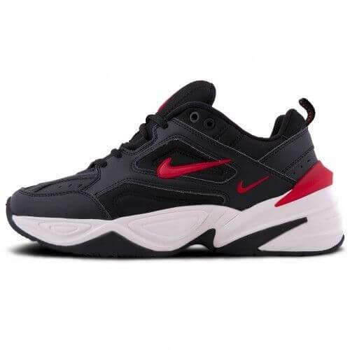 3e51d734 Nike M2K Tekno Black Red, купить кроссовки Найк м2к текно черные с ...