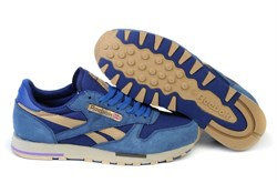 Reebok Classic Leather Utility BlueCementCanvas - фото 13866