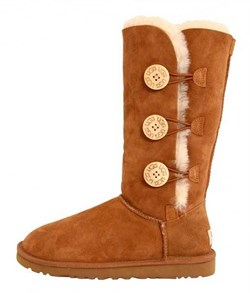 UGG BAILEY BUTTON TRIPLET CHESTNUT - фото 17416