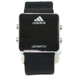 Часы Adidas (черные/белые) - фото 20751