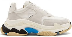 Balenciaga Triple S 2.0 White Blue - фото 27269
