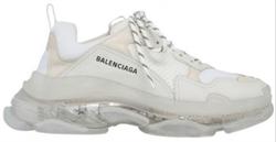 Balenciaga Triple S Clear Sole White - фото 27276