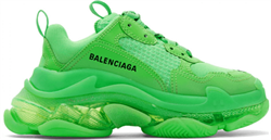 Balenciaga Triple S Clear Sole Yellow - фото 27281