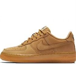Nike Air Force 1 Low GS Beige - фото 28804