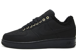 Nike Air Force 1 Low Black Winter - фото 28832