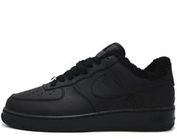 Nike Air Force 1 Low Winter Black - фото 28842