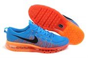 Nike Air Max 2014 Flyknit (Vivid-BlueGym-RedAtomic-Orange)