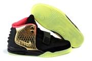 Nike Air Yeezy 2 by Kenye West (Black/Gold)