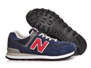 New Balance 574 Classic (Navy BlueRedGrey)