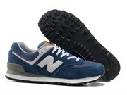 New Balance 574 Classic Men (Navy Blue)
