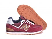 New Balance 574 Canteen Pack (BurgundyWhiteBrown)