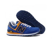 "New Balance 574 ""Passport Pack"" (BlueYellow)"