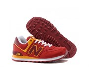 "New Balance 574 ""Passport Pack"" (RedYellow)"