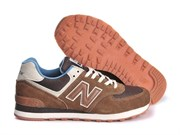 New Balance 574 Men Canteen Pack (Dark BrownBlueBeige)
