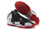 Nike LeBron 11 Men (BlackRedSilver)