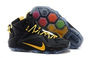 Nike LeBron 12 (BlackHot Yellow)