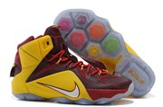 Nike LeBron 12 Elite Series (RedYellowWhite)