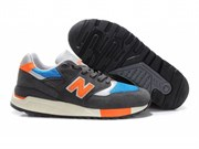 New Balance 998 Men (DarkGreyOrange)