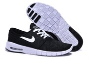 Nike SB Stefan Janoski Max Муж (BlackWhite)