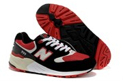 New Balance 999  (Black/Red)