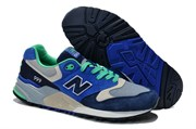 New Balance 999 Муж (Navy Blue/Lime Green)
