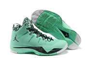 Nike Air Jordan Super Fly 2 (Green GlowBlake SpruceWhite)