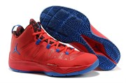 Nike Air Jordan Super Fly 2 (Gym RedGame Royal)