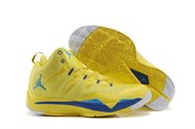 Nike Air Jordan Super Fly 2 (Varsity MaizeGamma BlueGame RoyalWhite)