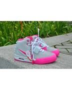 Nike Air Yeezy 2 Women (White/Pink)