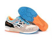 Asics Gel Lyte 3 Men (WhiteBright-OrangeBlue)