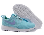 Nike Roshe Run Women (Blue LightWhite)