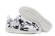 Nike Roshe Run Palm Trees (BlackWhite)
