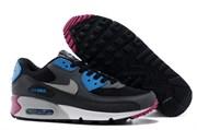 Nike Air Max 90 men Dark Grey Blue White Cherry