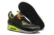 Nike Air Max 90 Sneakerboot (Dark Grey Orange Yellow)