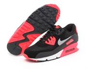 Nike Air Max 90 Premium Red Black Grey