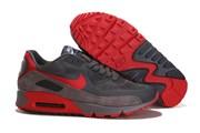 Nike Air Max 90 HYP Suede Dark Grey Red