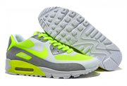 NIKE AIR MAX 90 HYP SUEDE WHITE GREY LT GREEN