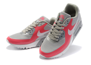 Nike Air Max 90 Hyperfuse Women's красно-серые