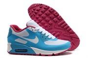 Nike Air Max 90 Hyperfuse бело-голубые