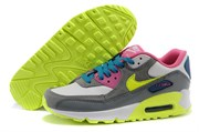 Nike Air Max 90 Premium Grey White Green Pink