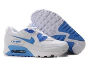 Nike Air Max 90 Women's White Blue