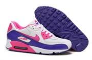 Nike Air Max 90 Women's бело-фиолетовые