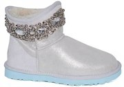 UGG & JIMMY CHOO CRYSTALS I DO WHITE