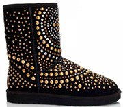 UGG & JIMMY CHOO SNOW BOOTS MANDAH BLACK