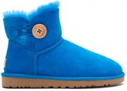 UGG MINI BAILEY BUTTON BLUE