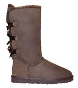 UGG BAILEY BOW TALL CHOCOLATE